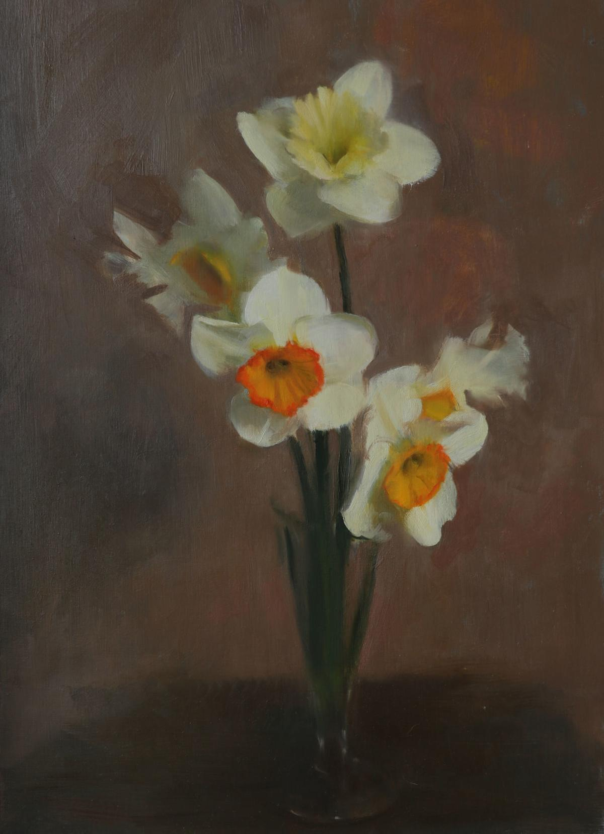 Tulips and Narcissus Turner Fine Art