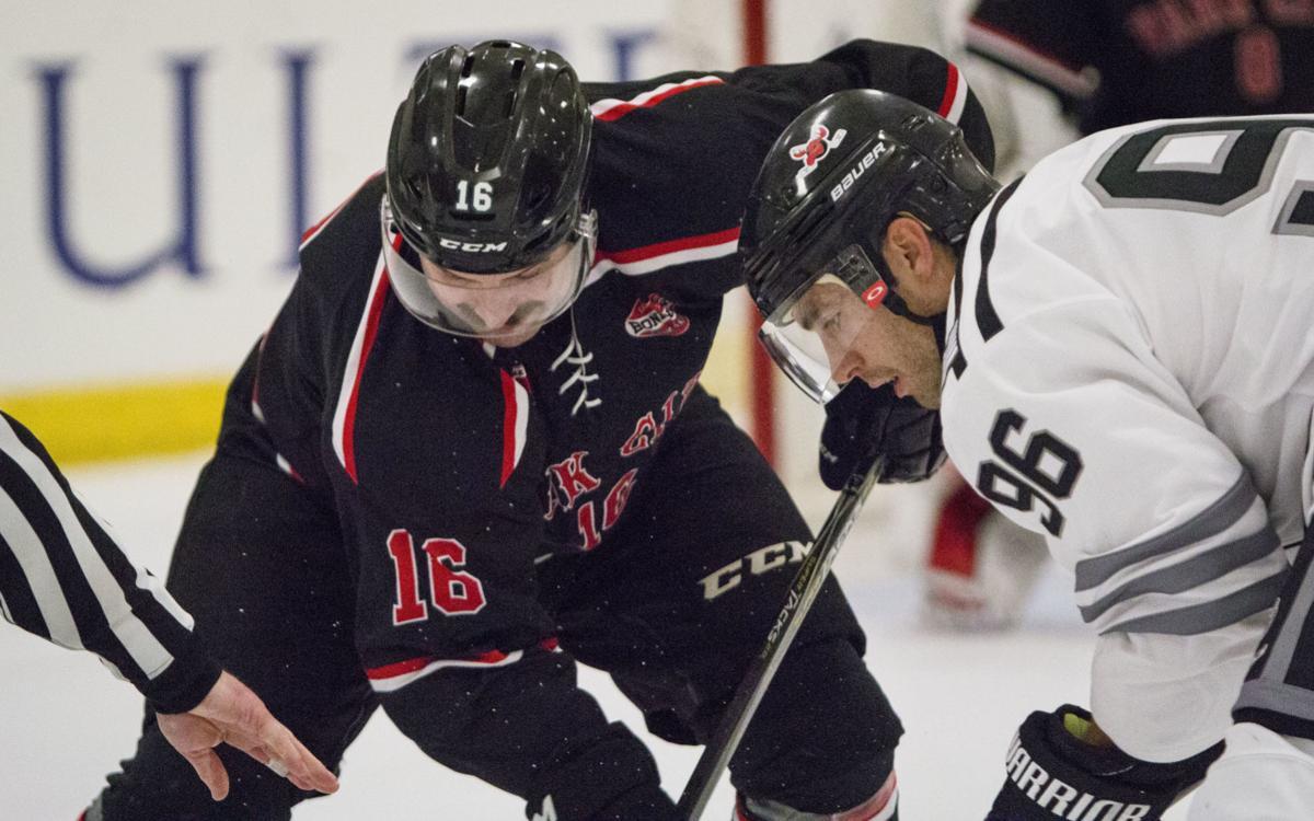 Moose Hockey opening weekend