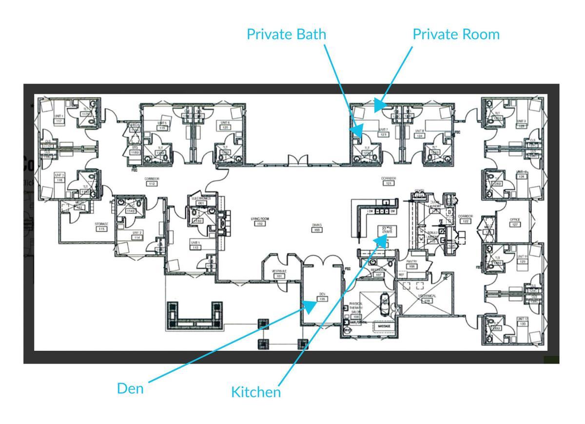 SPET: Living Center