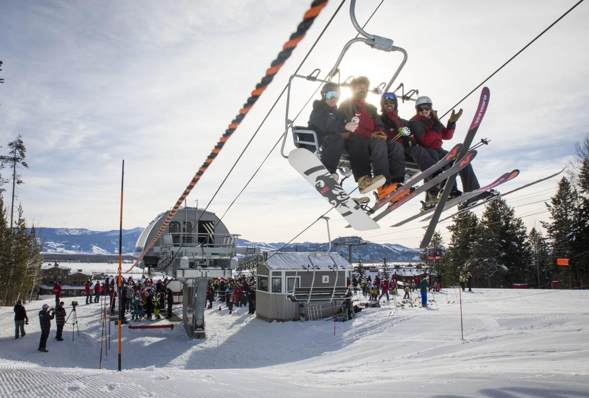 Eagle's Rest lift opening