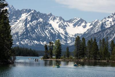 Colter Bay water levels dropping fast