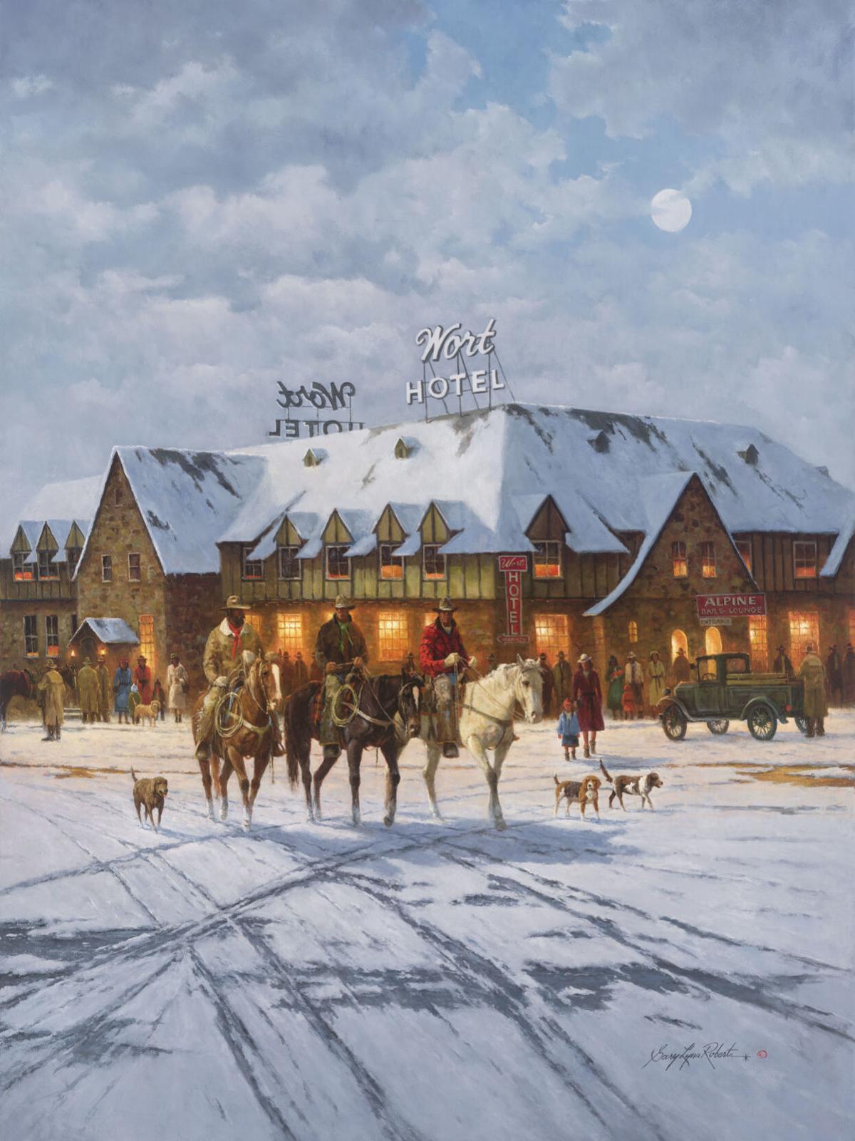 The Wort Hotel by Gary Lynn Roberts