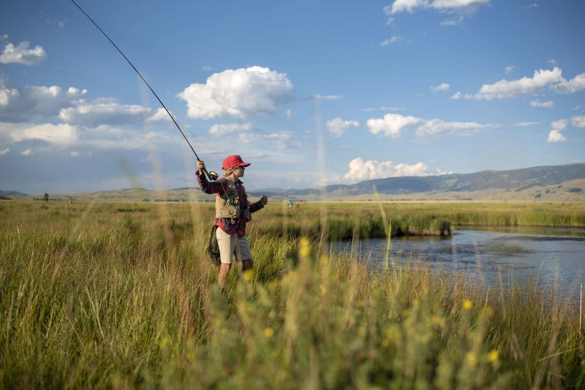 Flat Creek fishing