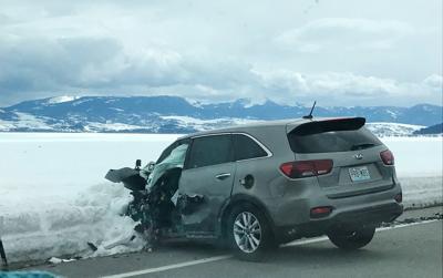 N. Highway 89 wreck