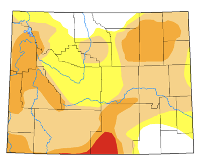 Teton County Drought