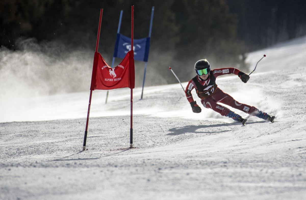 Wyoming state alpine ski championships