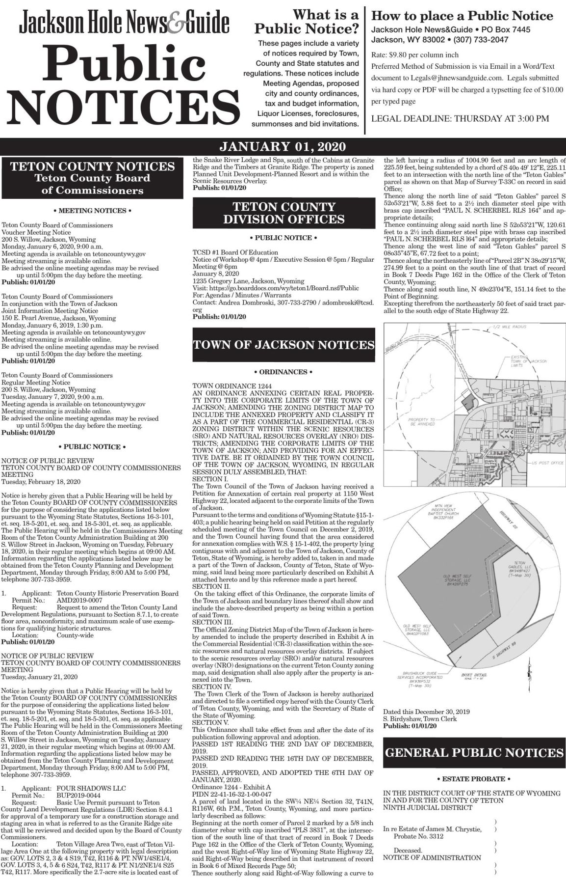 Public Notices, January 01, 2020
