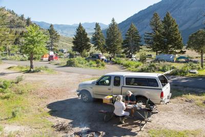 YNP camping