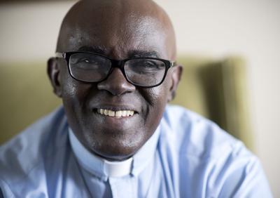 Father Ubald Rugirangoga