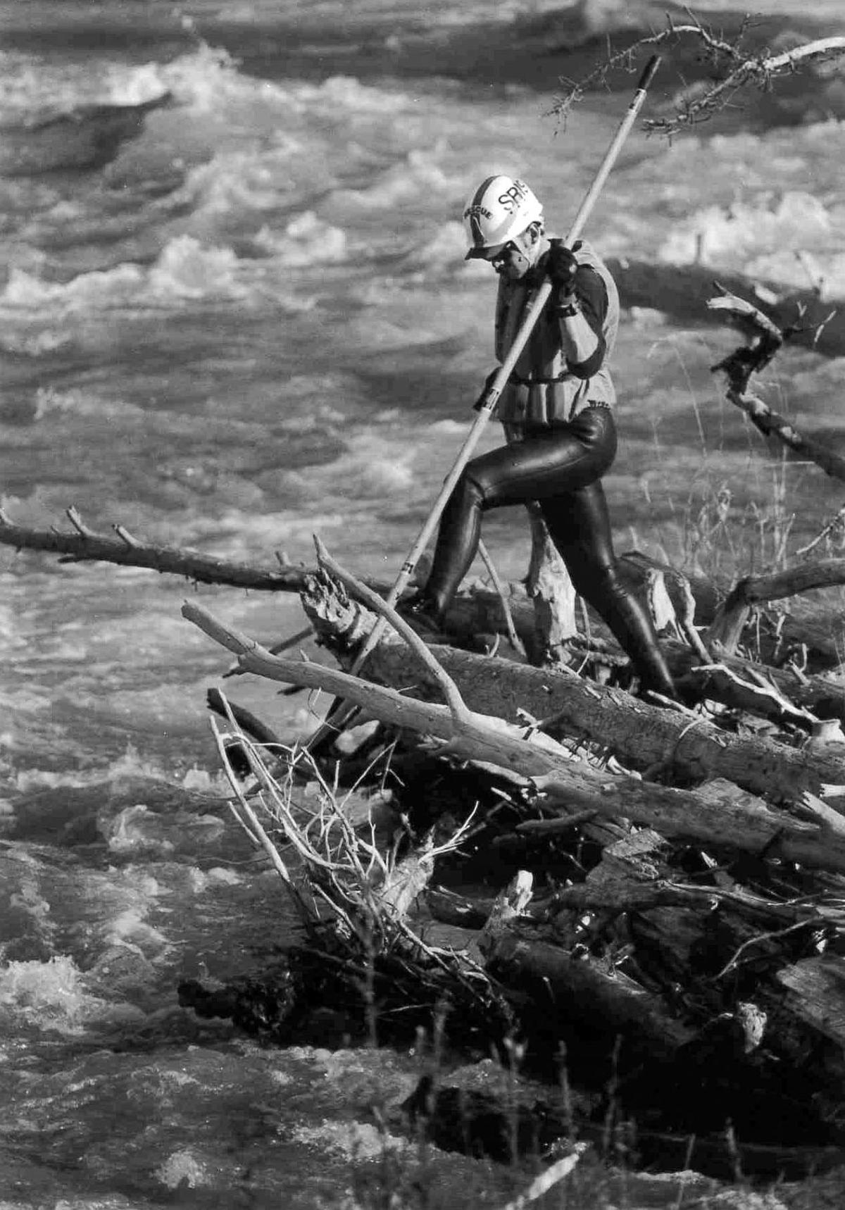 Drowned kayaker