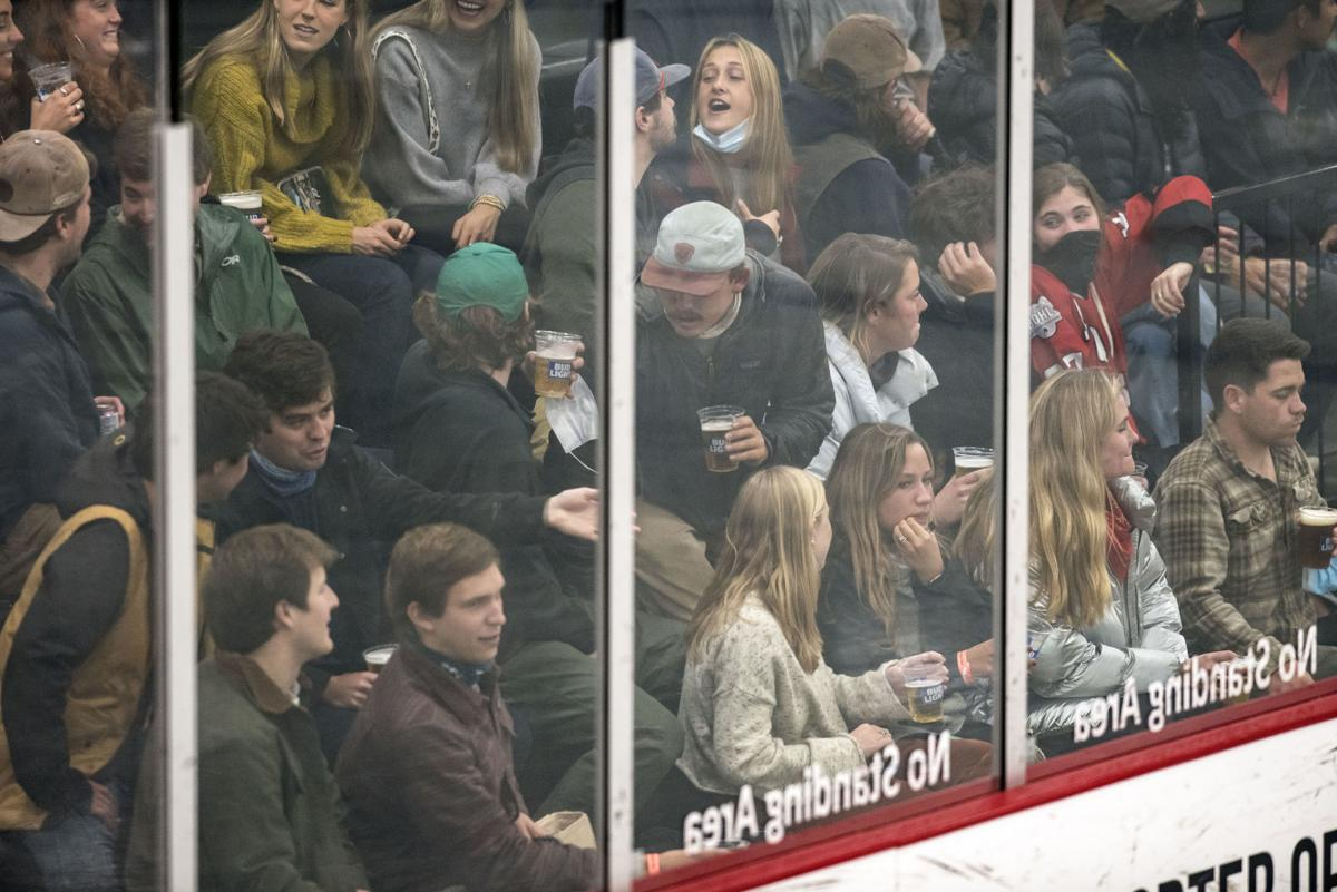 Moose hockey vs. Bozeman Stingers