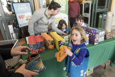 Girl Scout Cookies Excitement