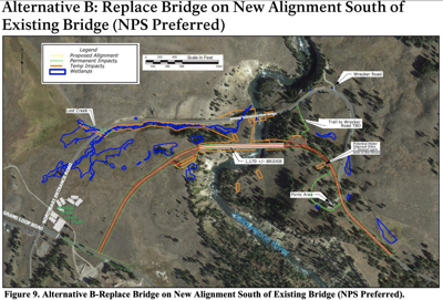 Yellowstone River bridge replacement at Tower