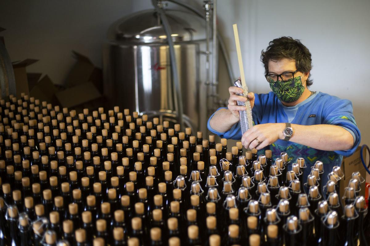 Farmstead Cider bottling