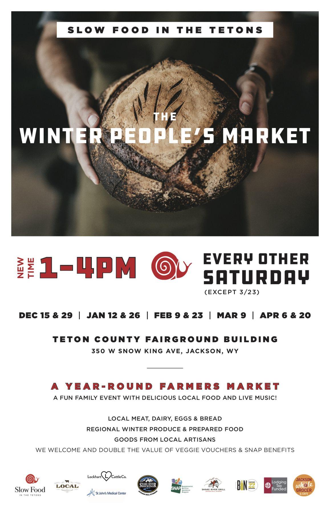 Winter People's Market Flyer