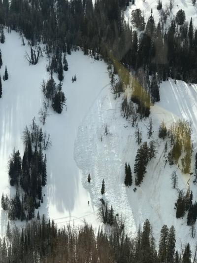 Fatal avalanche