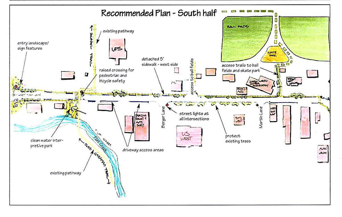 Gregory Lane plan