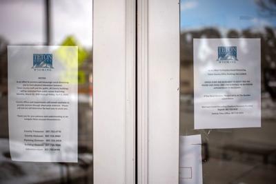 County building closures