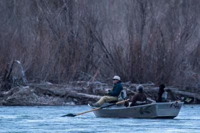 Fishing the Snake River