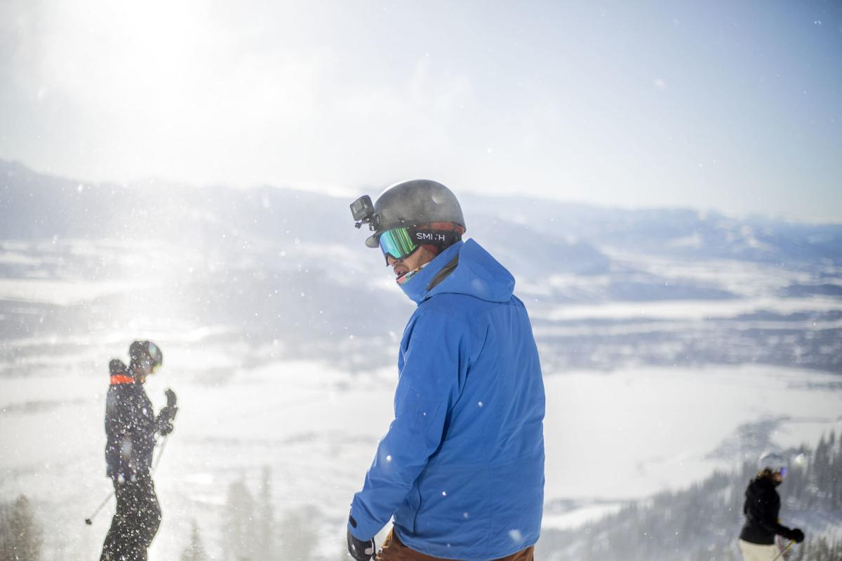 Teton Adaptive Sports veterans snowboarding program