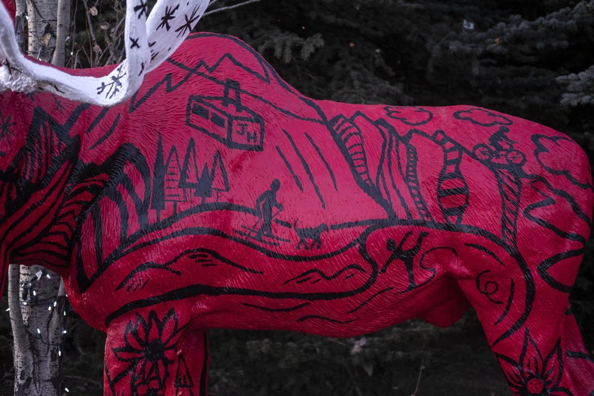 Haley Badenhop's moose mural