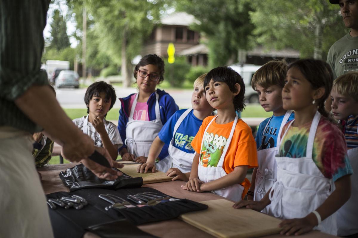 Slow Food Kid's Cooking Camp