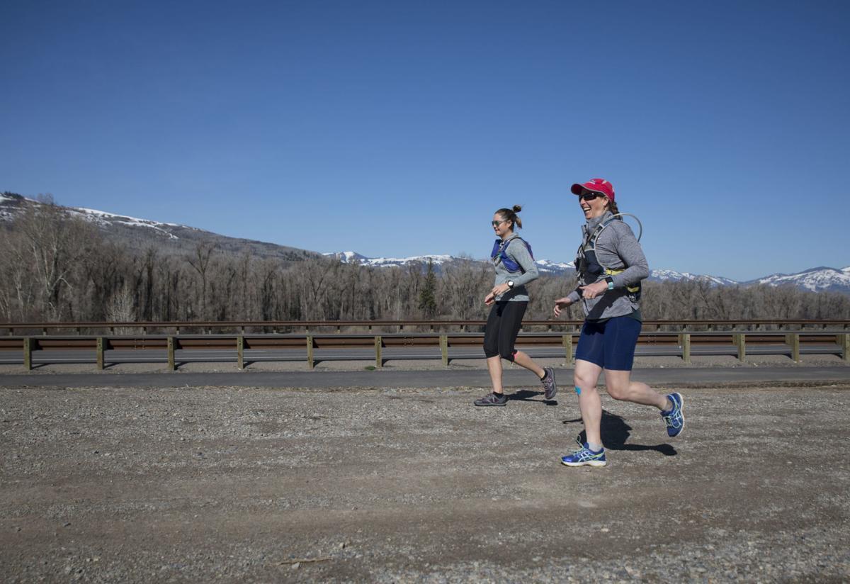 Monika Ziehl runs a half marathon every day in May for Brain Tumor Awareness Month