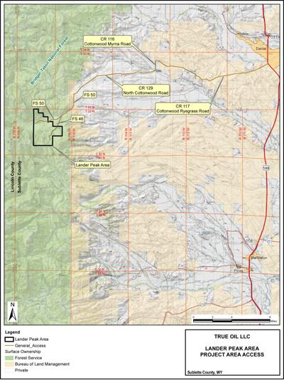 Oil drilling wins OK in Wyoming Range | Environmental ...