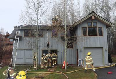Skyline house fire