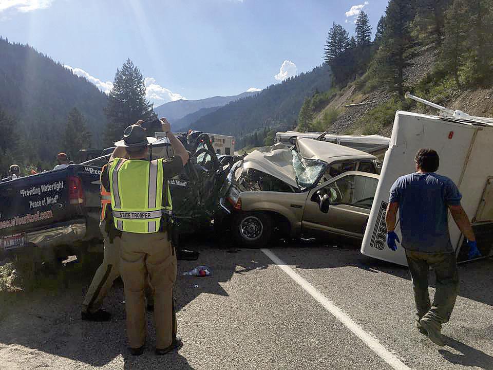 Snake River Canyon crash