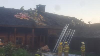 Dubois Fire Department responds to Brooks Lake Lodge