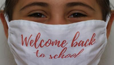 Welcome back to school. Got your mask?