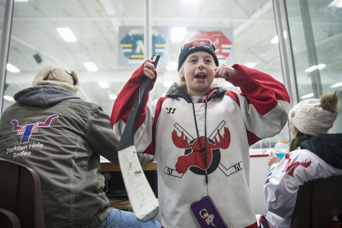 Moose Hockey's #1 fan