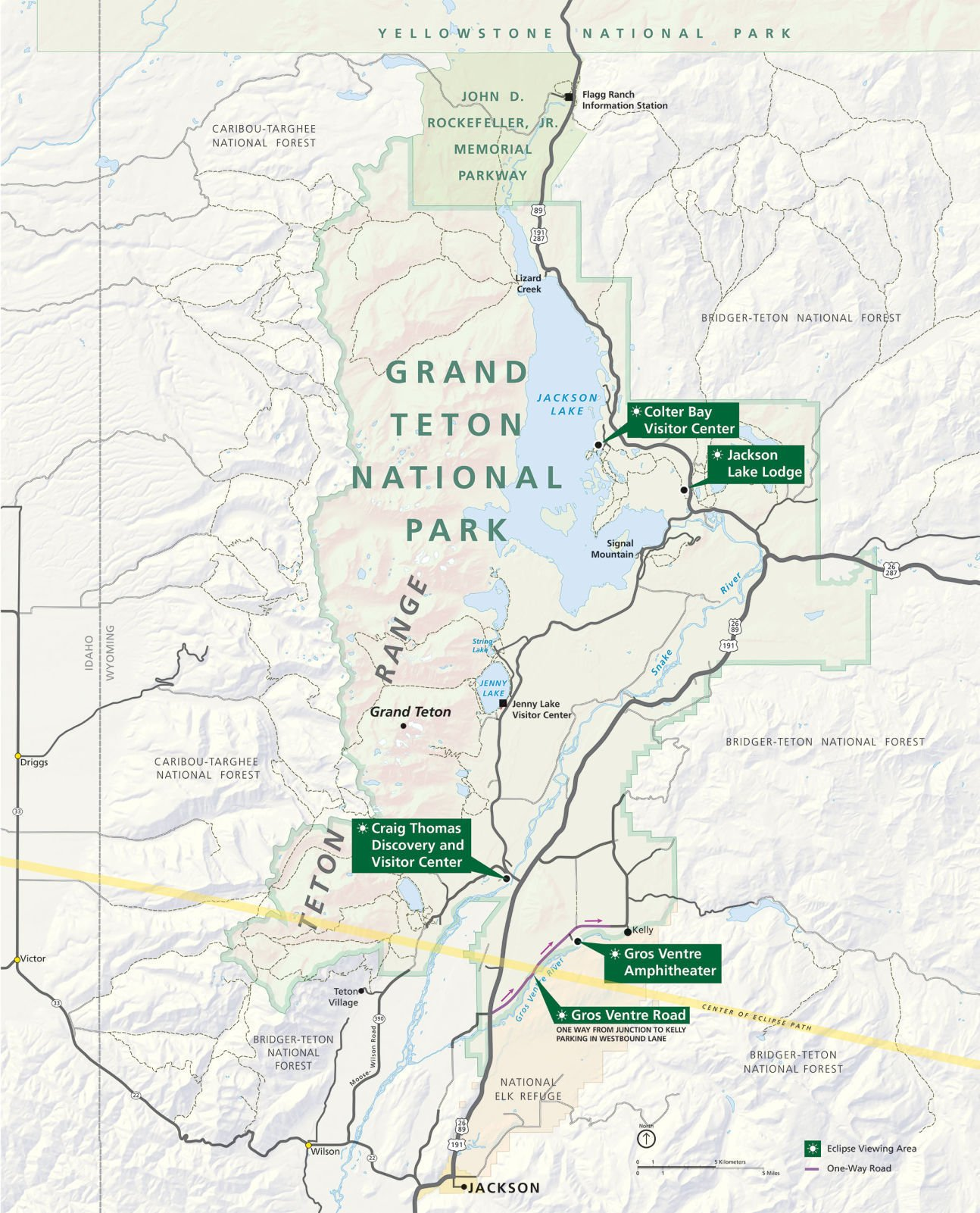 Teton park braces for its busiest day ever Environmental