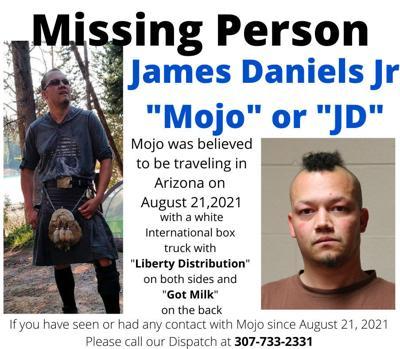Missing Person - James Daniels Jr.