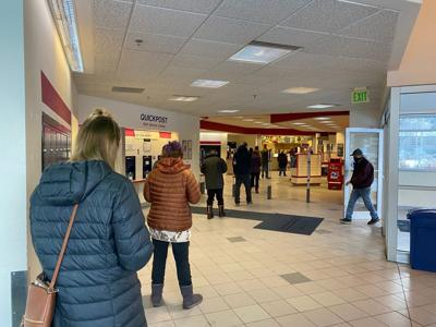 Holiday post office lines
