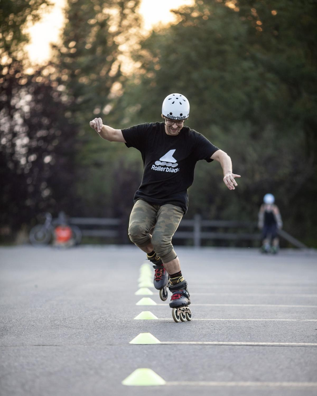 Rollerblade training