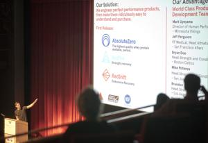 Supplements startup is first at Pitch Day