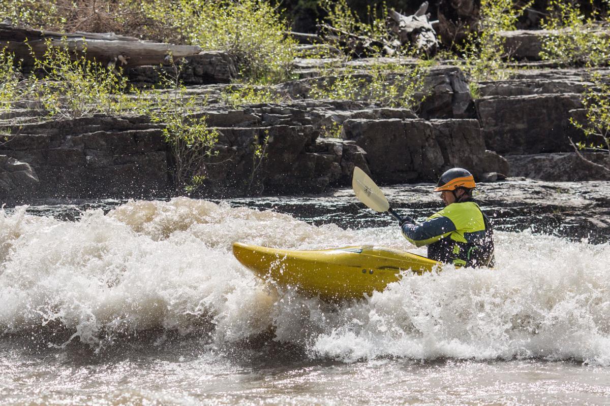 Snake River flows