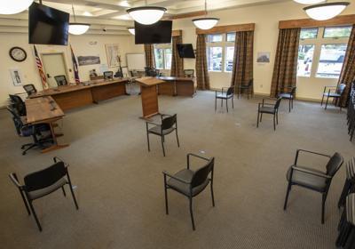 Teton County Commission chambers