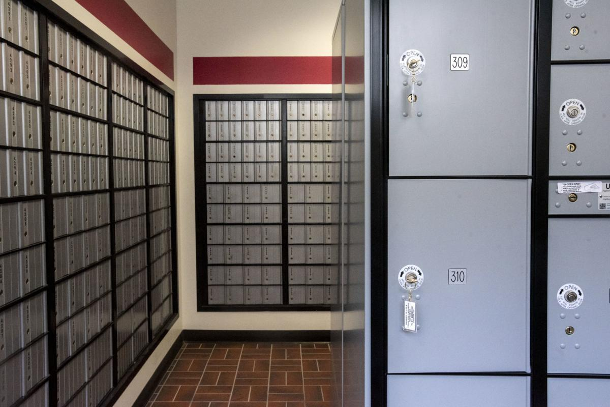 Post Office package lockers