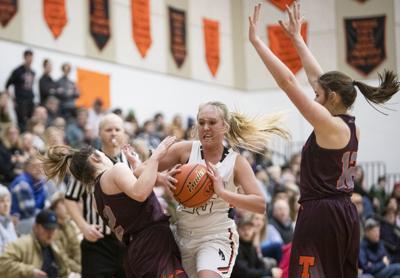 Lady Broncs vs. Teton High basketball