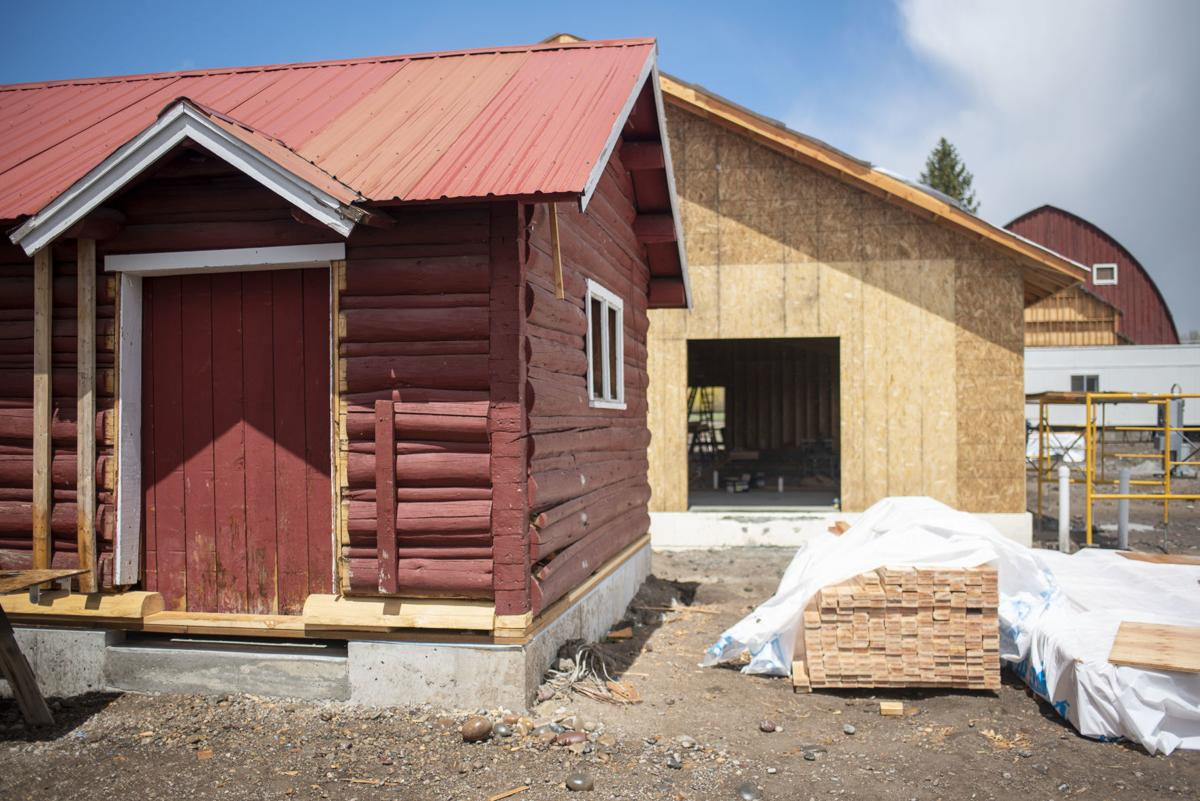 Teton Raptor Center renovation