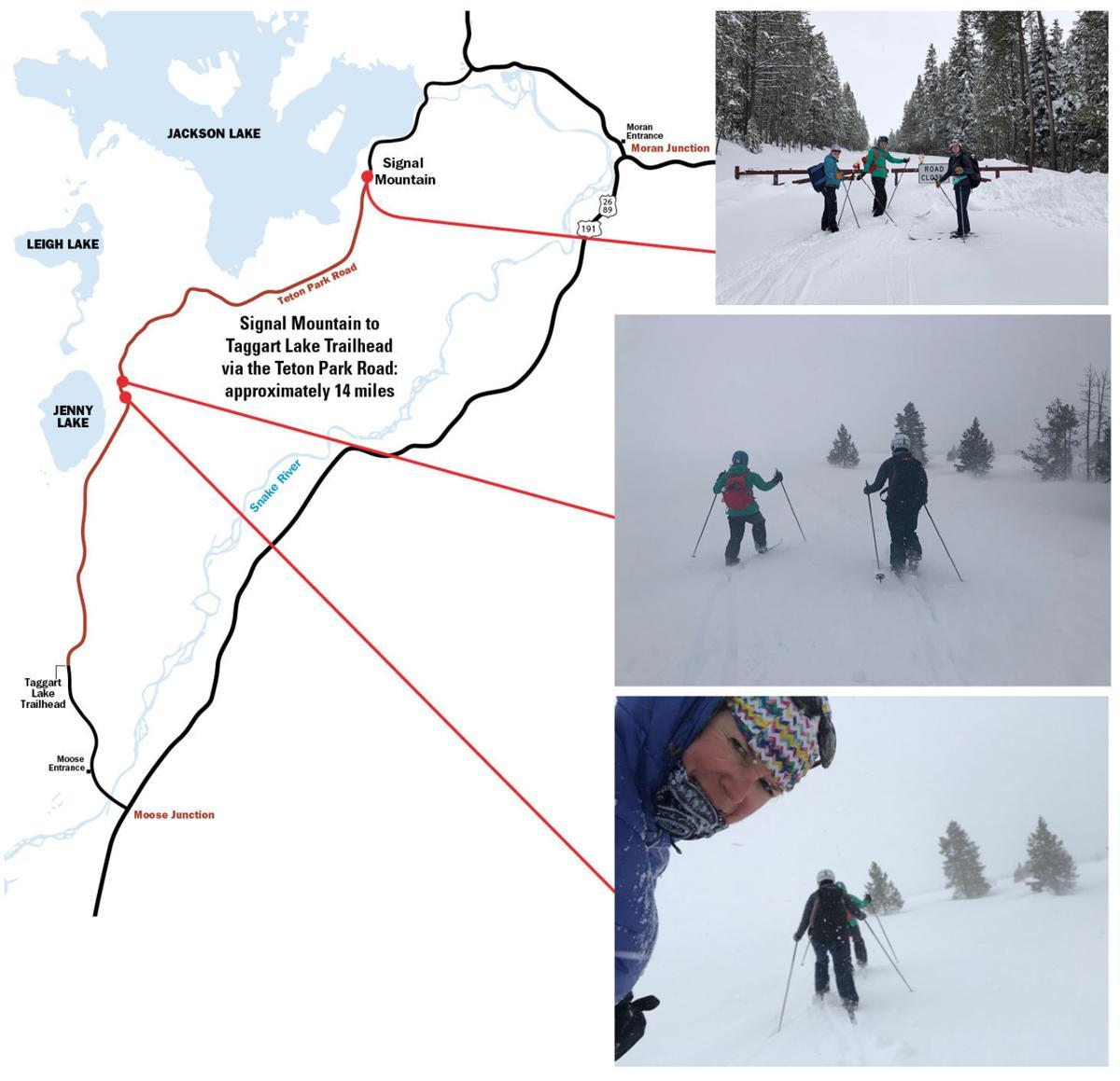 Epic ski adventure
