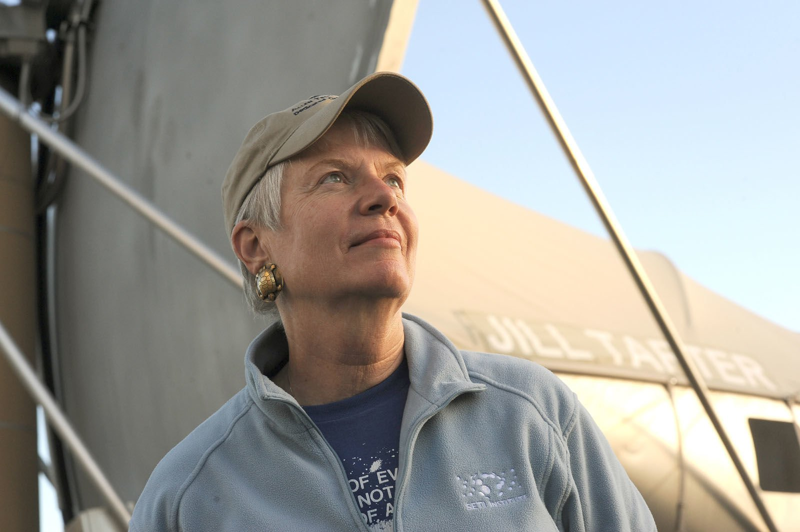 Portrait of Jill Tarter