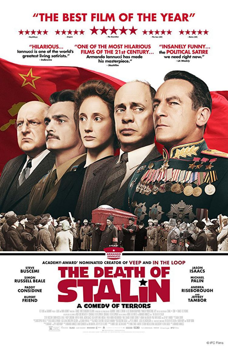 Death of Stalin Movie Poster