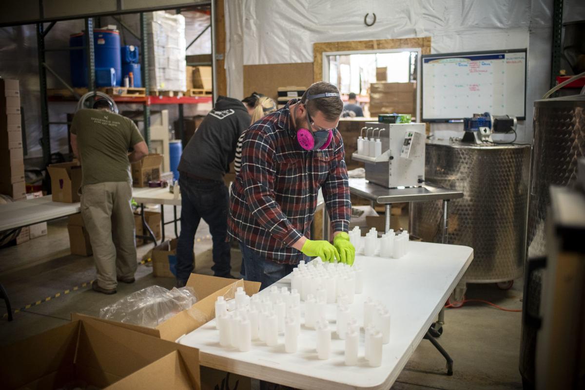 Hand sanitizer making