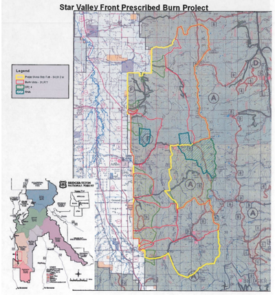 Star Valley Front Prescribed Burn Project