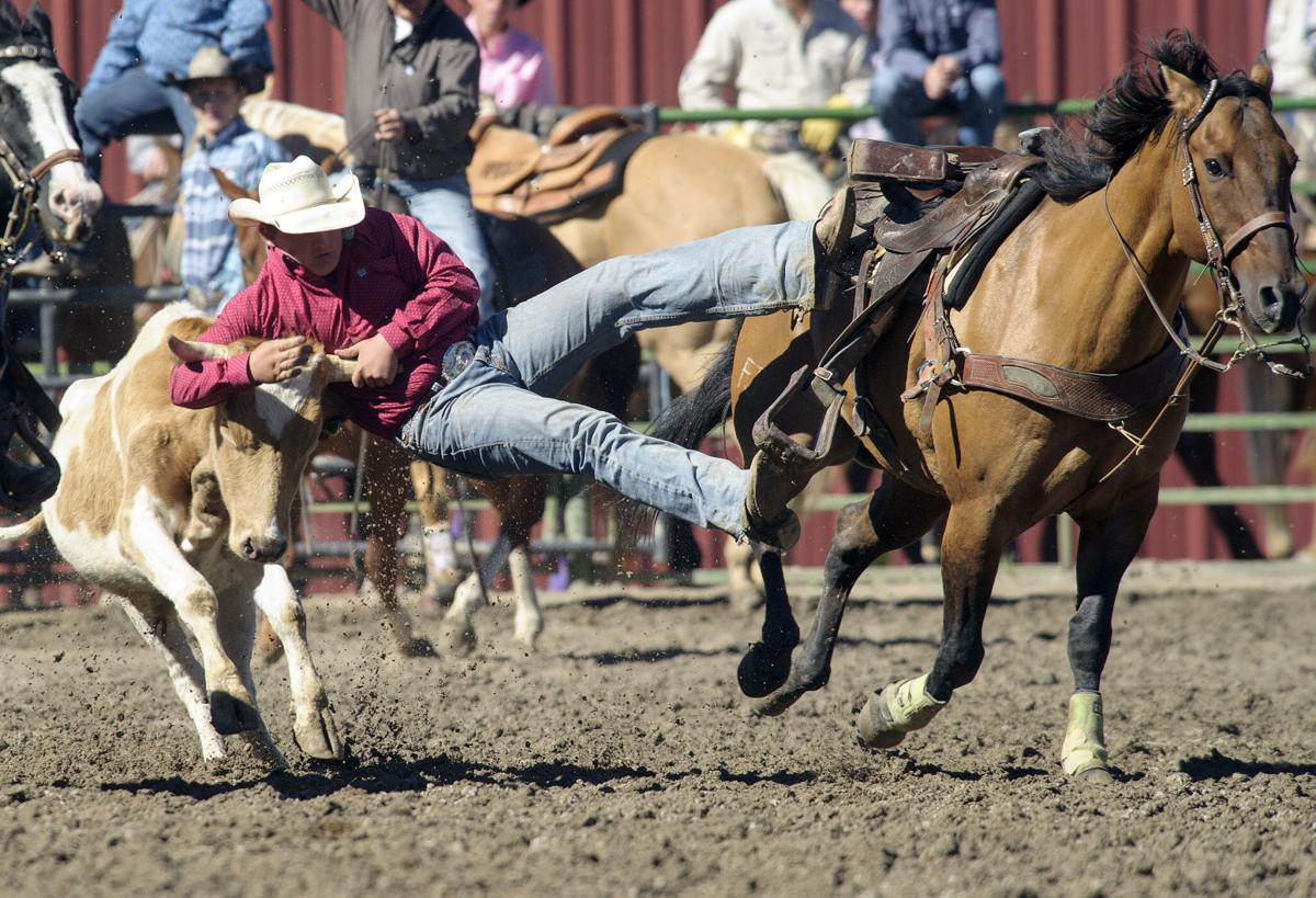 Rodeo Teens Ride In Home Arena Sports Features