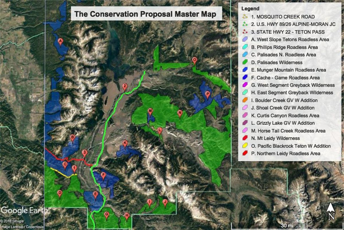 Conservation Proposal Master Map